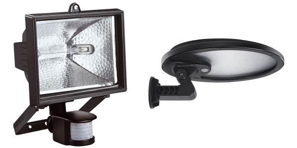 Détecteur de mouvement avec lampe